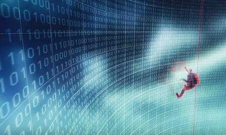 criminal activity: Hacking software security