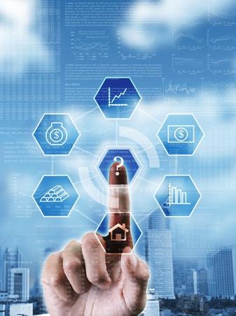 margen: Imagen conceptual acerca de la toma de decisiones de elegir la opci�n correcta en la toma de inversi�n de las empresas rentables