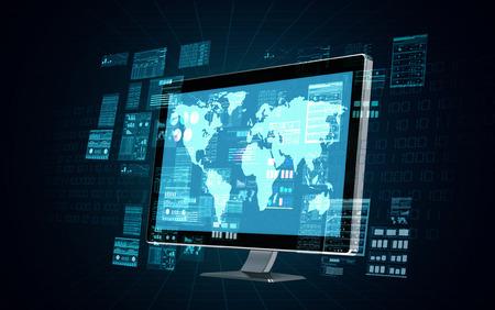Một máy tính máy chủ internet làm xử lý dữ liệu và tính toán