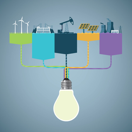 発電インフォ グラフィック