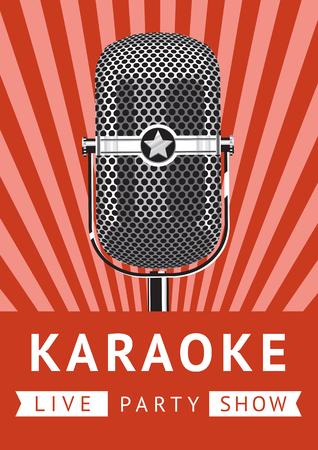 karaoke: Karaoke party poster