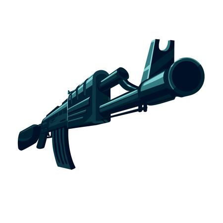 space wars: Weapon automatic gun