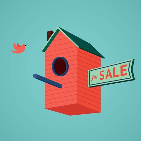 housewarming: Birds house for sale