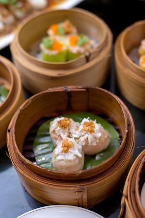 Chinese Crab Steamed Dumpling - Dimsum Yumcha Shumai