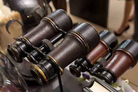 antique binoculars: Antique binoculars