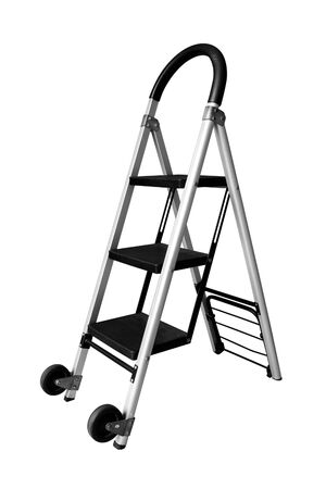 ladder isolated on white