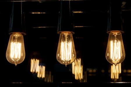 incandescent filament tungsten lamps