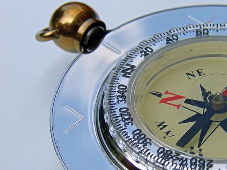 Macro of a compass Archivio Fotografico