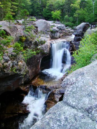 Cascades in the mountains of western Maine