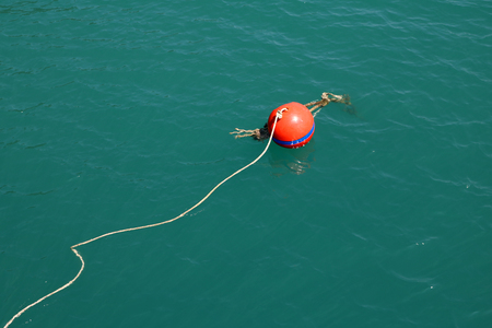 buoy: buoy in the sea.