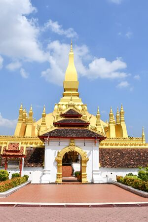 Pha That Luang  or The Great Stupa is a must-see Laos attraction which locates in its capital, Vientiane.