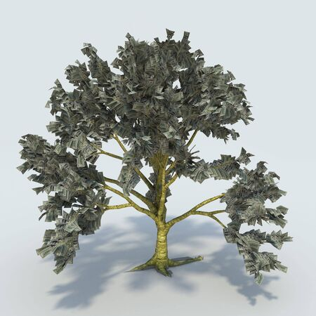 enriched: Tree from money