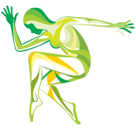 desires: Sports and fitness Illustration