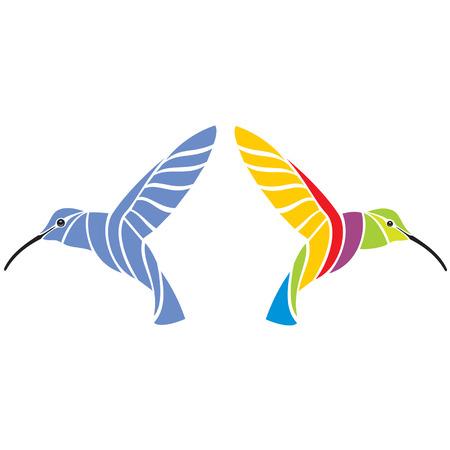hummingbirds Stock Vector - 6199784