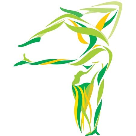 body curve: girl dance