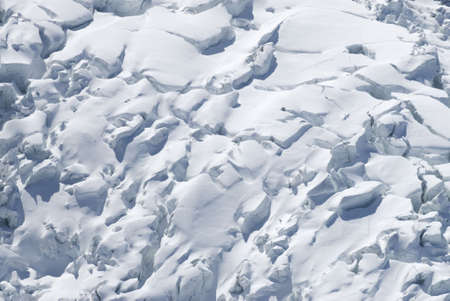degrade: Views of the Glaciers surrounding Mont Blanc