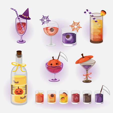 Halloween beverage Stock Vector - 86787367