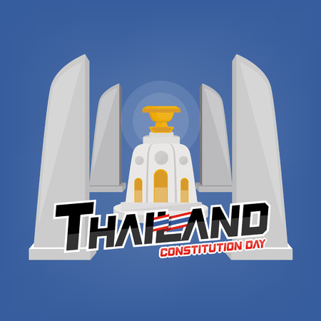 Thailand constitution's day. Constitution's monument in Thailand
