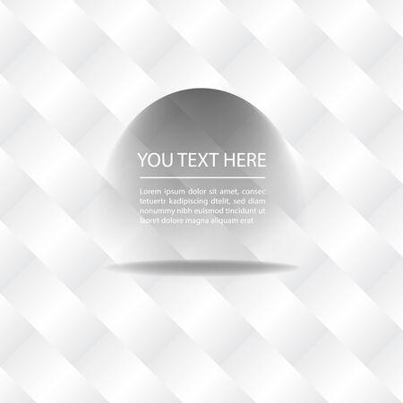 White background with geometric vector. Çizim