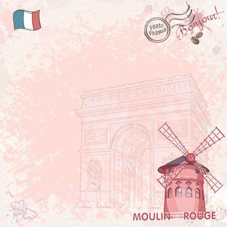 background image: Imagen de fondo en par�s que representa el Moulin Rouge