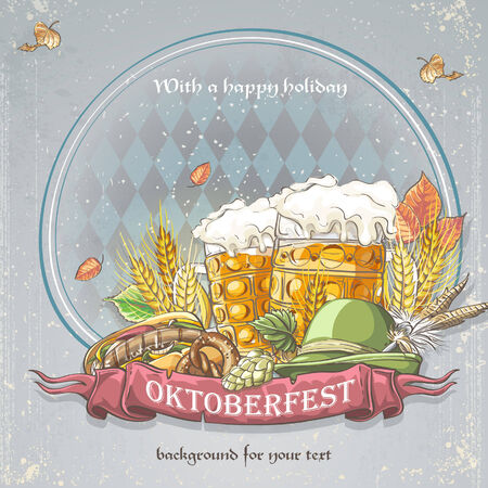 lederhosen: Oktoberfest Background