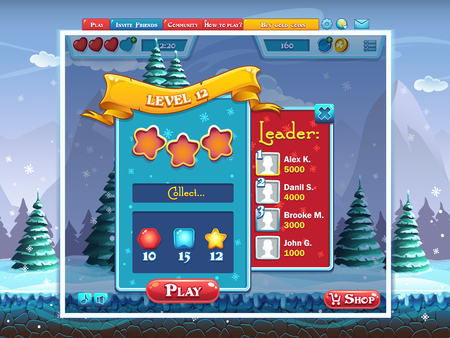 marry christmas: Marry Christmas - example tasks perform level computer game
