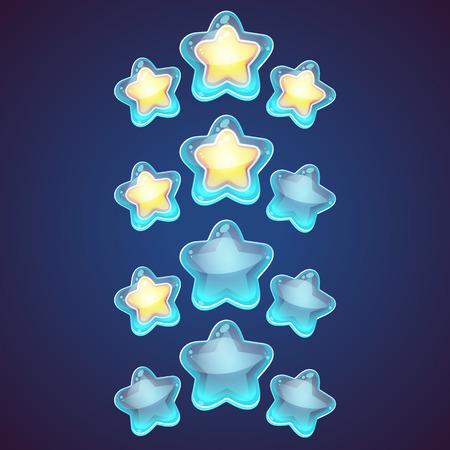 patron: conjunto de vectores de la estrella. icono de la estrella. Líder estrella jefe, ganador, categoría, rango. Símbolo de la astrología de la estrella. logotipo del icono de la estrella. estrella de la astronomía