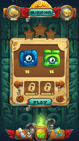 Jungle shamans GUI mission completed window