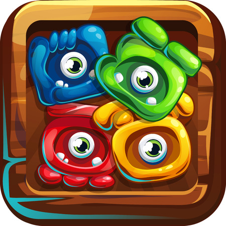 computer game: Icon jungle shamans for computer game