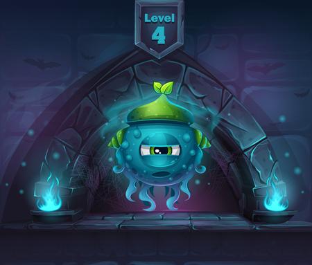 Slug Magic in next 4th level Иллюстрация