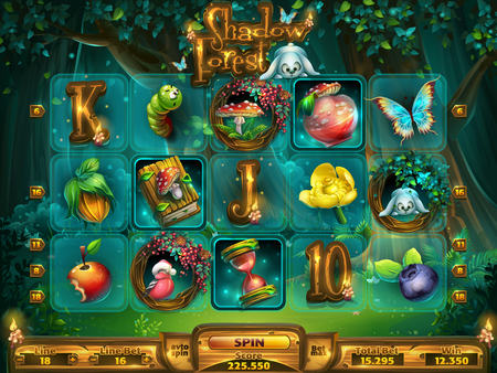 Playing field slots game for game user interface 版權商用圖片 - 93694534