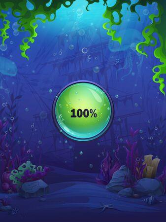 Fish world match 3 charge screen