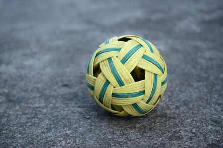 scourge: A rattan ball