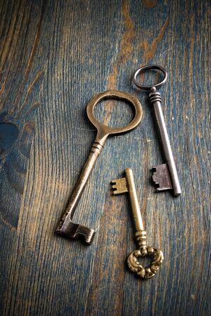 3 Keys on a Table photo