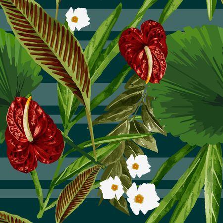Tropical Dreams - Red Laceleaf