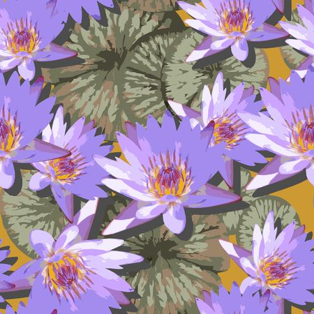 Tropical Dreams - Purple Lotus