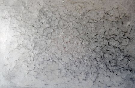 scratched, grungy surface of old aluminum