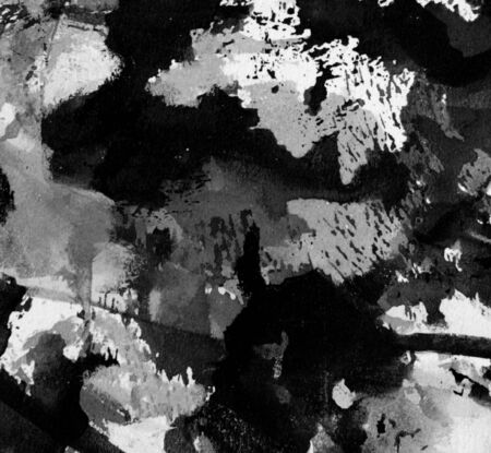 splotches: dark grunge of ink and paint in splotches and streaks