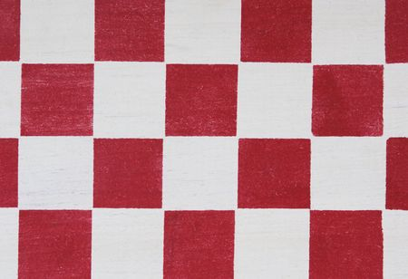 red stenciled checkerboard detail useful for a background