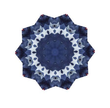 파란색과 흰색 별과 모양의 디자인 스톡 콘텐츠