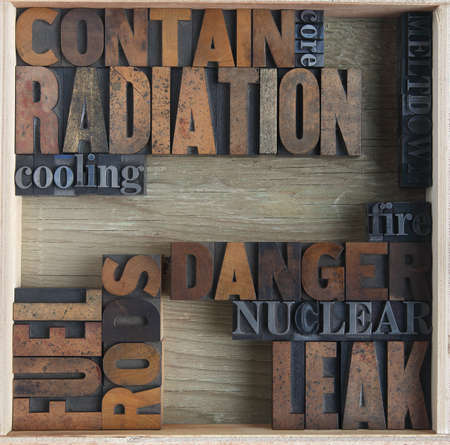 words related to nuclear accidents Stock Photo - 9179871
