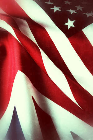 patriotism: Flags of the UK and USA