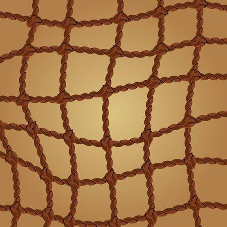 patch of light: griglia di corda Vettoriali