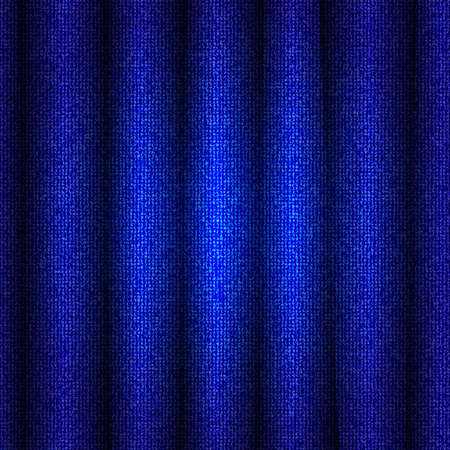patch of light: tessuto blu Vettoriali
