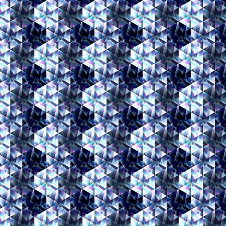 splinters: color splinters of glass on a blue background