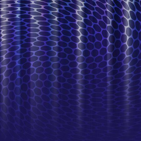 patch of light: luce brillante in acqua blu