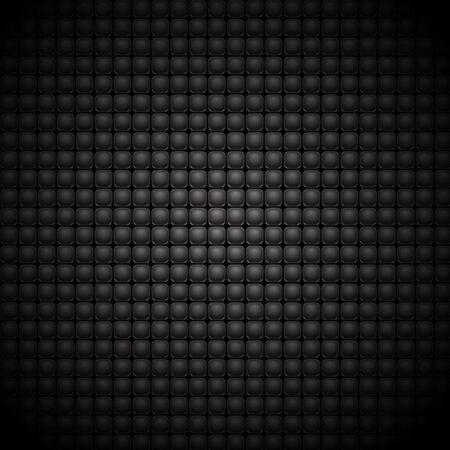 patch of light: quadrati neri su sfondo grigio