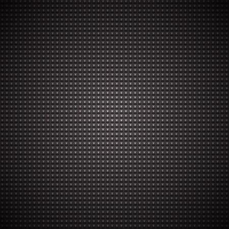 patch of light: quadratini neri con una macchia di luce su uno sfondo grigio