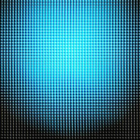 patch of light: luce modello blu su sfondo nero