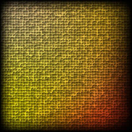 patch of light: Reticolo giallo su sfondo nero
